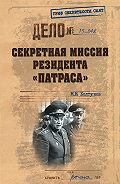 Михаил Болтунов - Секретная миссия резидента «Патраса»