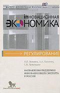Н. Воловик -Направления поддержки инновационного экспорта в России