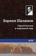 Варлам Шаламов -Сергей Есенин и воровской мир
