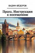 Вадим Фёдоров -Прага. Инструкция кпосещению