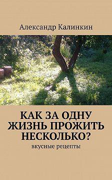 Александр Калинкин - Как заодну жизнь прожить несколько? Вкусные рецепты