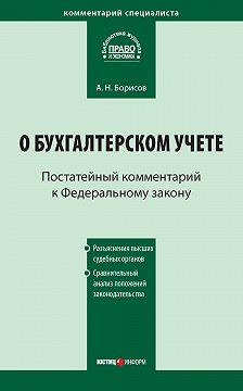 Александр Борисов - Комментарий к Федеральному закону от 21 ноября 1996г.№129-ФЗ «О бухгалтерском учете» (постатейный)