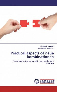 Николай Камзин - Practical aspects of neue kombinationen. Essence of entrepreneurship and settlement relations