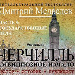 Дмитрий Медведев - Черчилль. Биография. Часть 3. Государственные дела