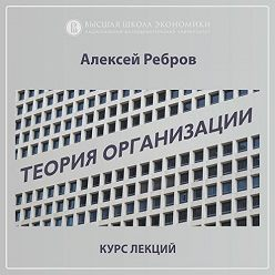 Алексей Ребров - 1.4. Функции организации как социальной системы
