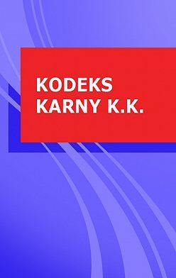 Polska - Kodeks karny k.k.