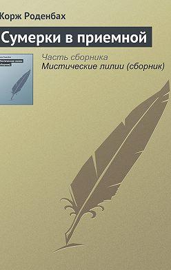 Жорж Роденбах - Сумерки в приемной