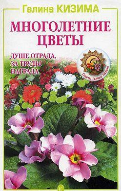 Галина Кизима - Многолетние цветы. Душе отрада, за труды награда