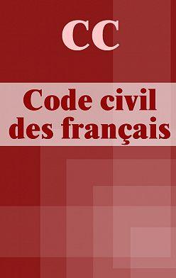 France - CC Code civil des français