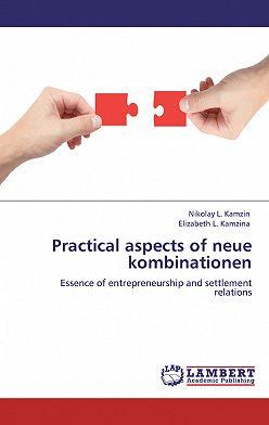 Николай Камзин - Practical aspects of neue kombinationen. Essence of entrepreneurship and settlement relations