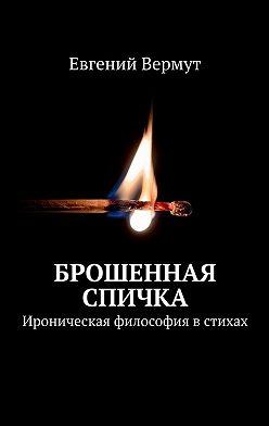 Евгений Вермут - Брошенная спичка. Ироническая философия в стихах