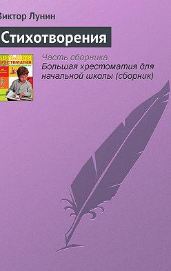 Виктор Лунин - Стихотворения
