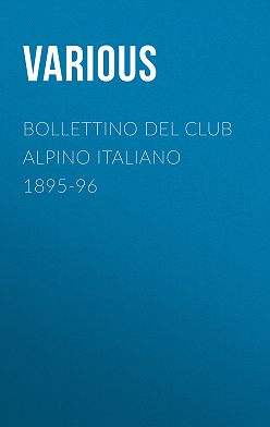 Various - Bollettino del Club Alpino Italiano 1895-96
