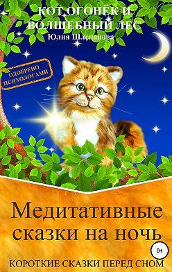 Юлия Шлепанова - Медитативные сказки на ночь. Короткие сказки перед сном. Кот Огонёк и волшебный лес