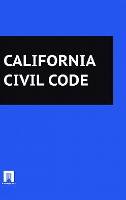 California - California Civil Code