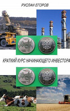 Руслан Егоров - Краткий курс начинающего инвестора