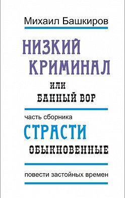 Михаил Башкиров - Низкий криминал, или Банный вор