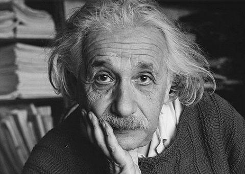 Книжная полка Альберта Эйнштейна