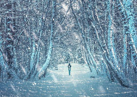 Страшная зимняя подборка