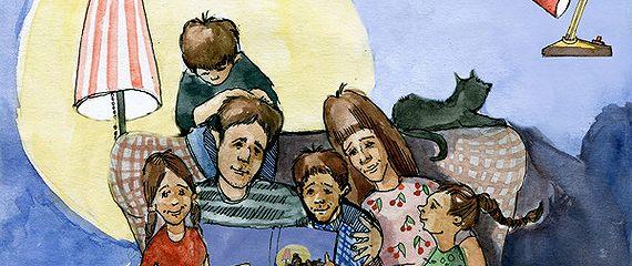 Сказки про детей. Продолжение (Иллюстрированное издание)
