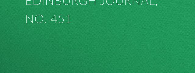 Chambers's Edinburgh Journal, No. 451