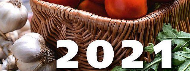 Лунный дачный календарь на 2021 год