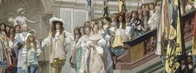 Четыре фрейлины двора Людовика XIV