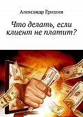 Александр Гришин -Что делать, если клиент неплатит?