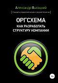 Александр Высоцкий -Оргсхема. Как разработать структуру компании