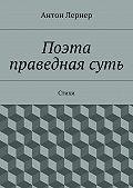 Антон Лернер - Поэта праведнаясуть. Стихи