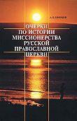 Андрей Ефимов -Очерки по истории миссионерства Русской Православной Церкви