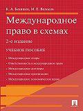 Камиль Бекяшев, Марлен Волосов - Международное право в схемах. 2-е издание