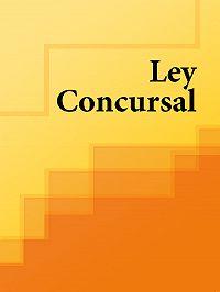 Espana -Ley Concursal
