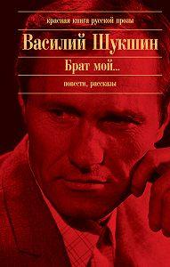 Василий Шукшин -Два письма
