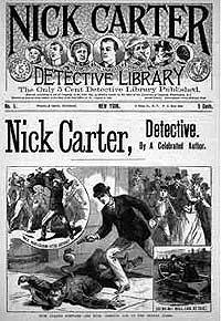 Ник Картер -Цезарь, собака-сыщик