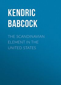 Kendric Babcock -The Scandinavian Element in the United States