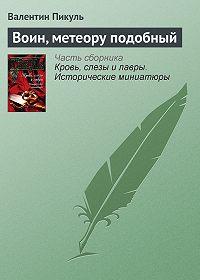 Валентин Пикуль -Воин, метеору подобный