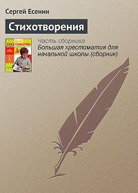 Сергей Александрович Есенин -Стихотворения