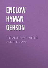 Hyman Enelow -The Allied Countries and the Jews