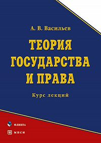 Анатолий Васильевич Васильев -Теория государства и права. Курс лекций
