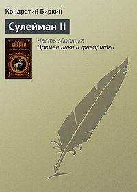 Кондратий Биркин -Сулейман II