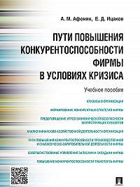 Евгений Ицаков, Александр Афонин - Пути повышения конкурентоспособности фирмы в условиях кризиса. Учебное пособие