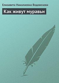 Елизавета Водовозова -Как живут муравьи