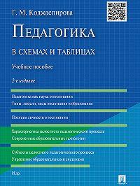 Галина Коджаспирова -Педагогика в схемах и таблицах. 2-е издание. Учебное пособие