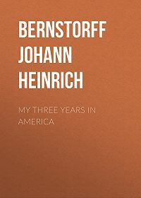 Johann Bernstorff -My Three Years in America