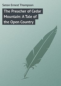 Ernest Seton -The Preacher of Cedar Mountain: A Tale of the Open Country