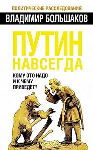 Владимир Викторович Большаков -Путин навсегда. Кому это надо и к чему приведет?