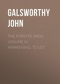 John Galsworthy -The Forsyte Saga, Volume III. Awakening. To Let