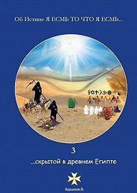 Владимир Бурлаков -3 …скрытой в Древнем Египте