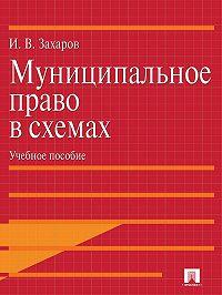 Илья Захаров -Муниципальное право в схемах